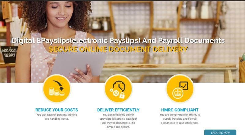 Electronic payslips made easy